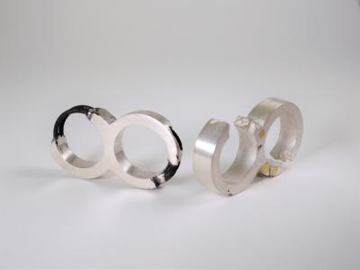 Rings by student Eve Shih